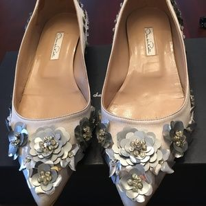 Oscar de la Renta one of a kind flats
